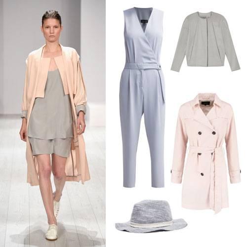 Farben im Frühling 2015: Grau & Rosa