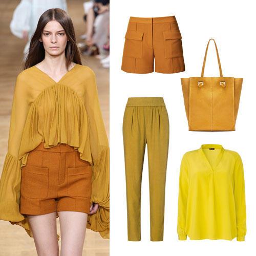 Farben im Frühling 2015: Gelb & Orange