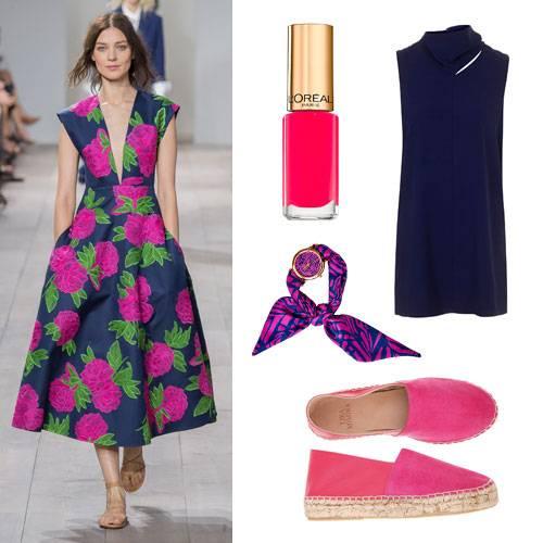 Farben im Frühling 2015: Marineblau & Pink