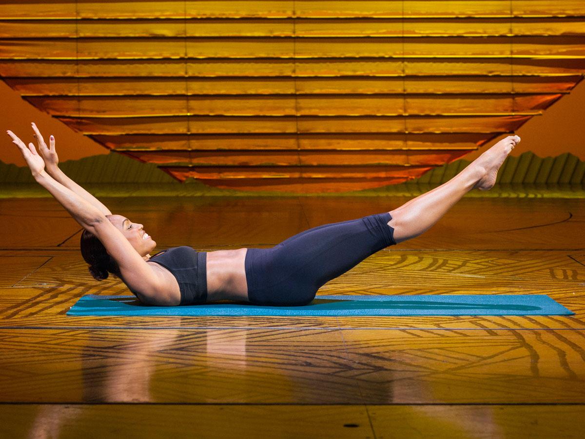 Training für Bauch, Beine und Po