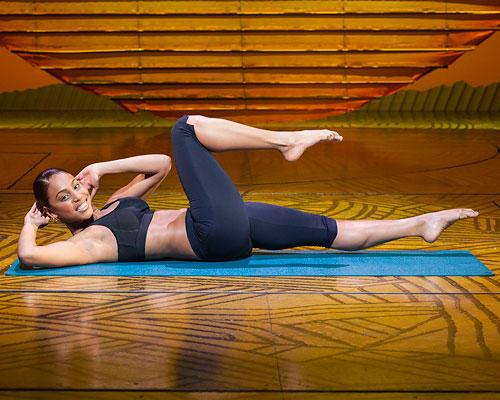 Trainiert die schrägen Bauchmuskeln