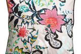 H&M Kissen mit Blumenaufdruck