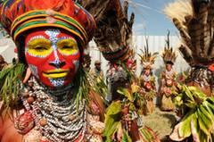 Küssen in Papua-Neuguinea