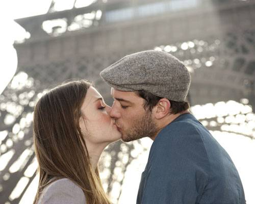 Küssen in Frankreich