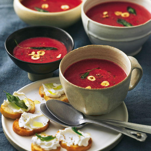 Rote-Bete-Balsamico-Suppe