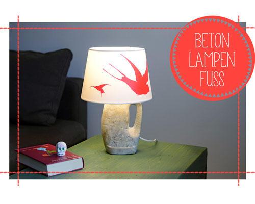 Selbermacher: Betonlampe: So schwer und doch so leicht ... | BRIGITTE.de
