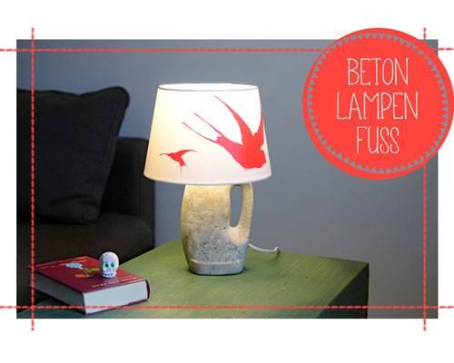 selbermacher betonlampe so schwer und doch so leicht. Black Bedroom Furniture Sets. Home Design Ideas
