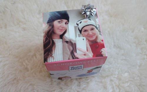 Geschenkverpackung für Freundin