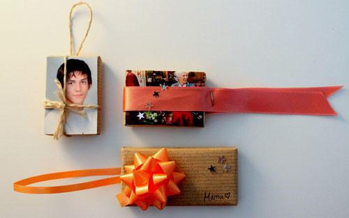 Persönliche Geschenkverpackung mit Foto