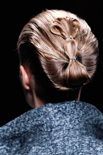 Lust auf eine andere Frisur? Inspirationen bei Haider Ackermann
