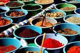Gewürze Markt Tunesien
