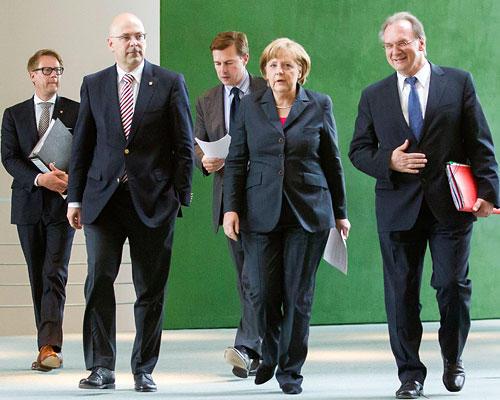 Mächtige Merkel