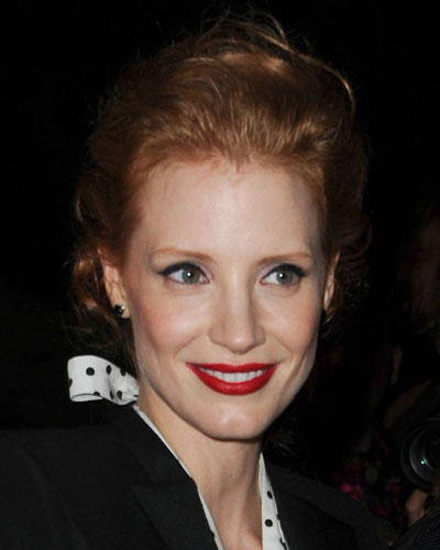 Top-Make-up 2012: Jessica Chastain