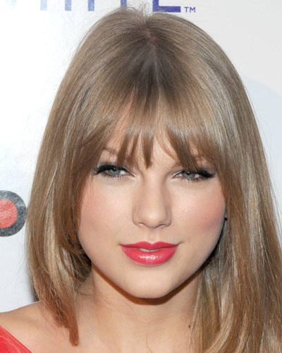 Top-Make-up 2012: Taylor Swift