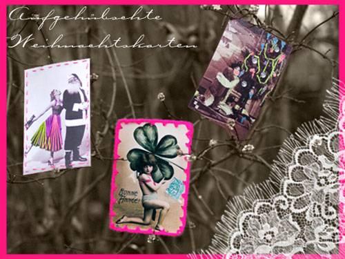 Weihnachtskarten mit Fotos