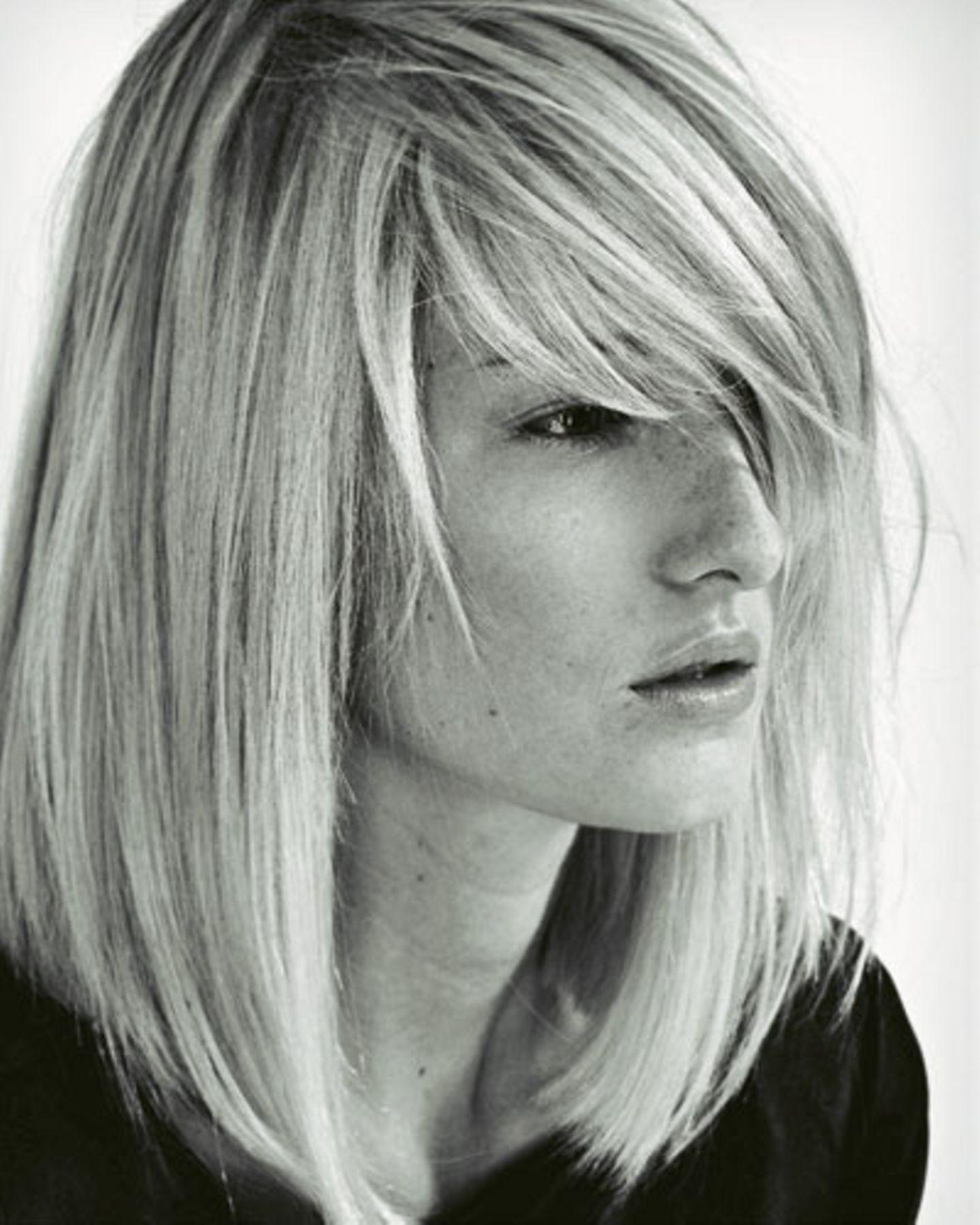 Haare frisuren lange graue Frisuren Frauen
