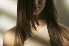 Lange Haare: Gefranst