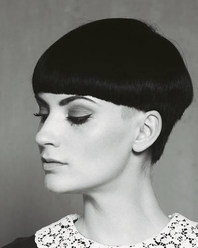 Kurze Haare: Grafik-Cut
