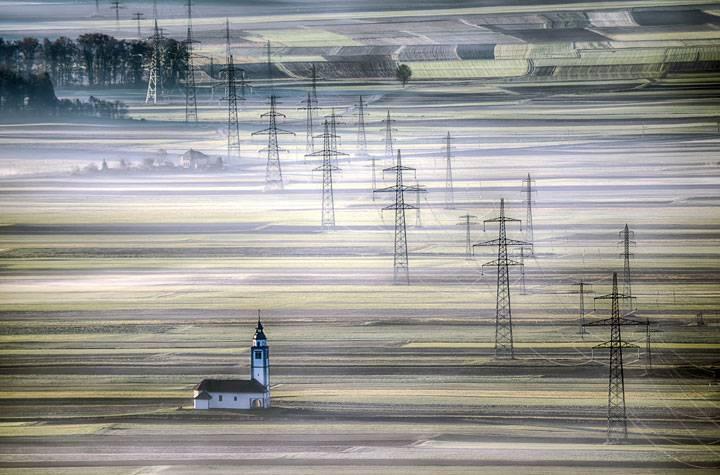 """Church on the fields of Sorško Polje"""