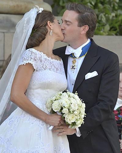 Prinzessin Madeleine von Schweden und Chris O'Neill