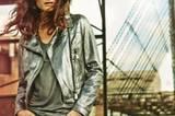 Lederjacke Rich&Royal Tanktop Monari Jeans Expresso