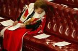 Margaret Thatcher im Kabinett