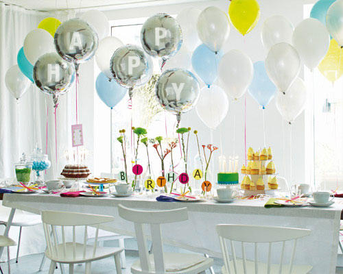 Einrichtungsideen Geburtstag Deko Ideen