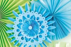 Rosetten: Blumen für die Wand