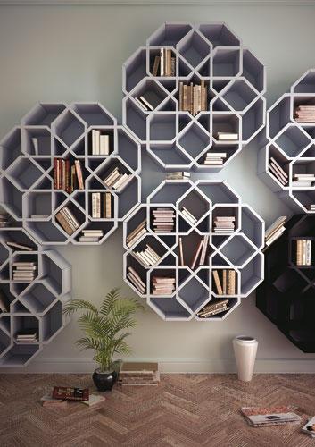 b cherregale und mehr au ergew hnliche m bel stilvoll mit b chern leben. Black Bedroom Furniture Sets. Home Design Ideas