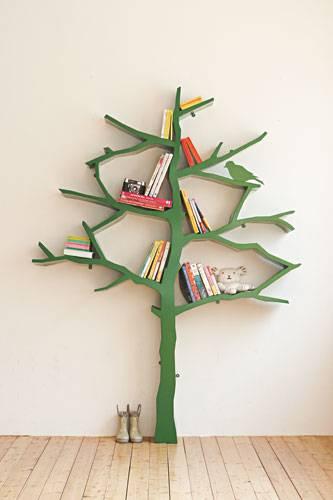 Bücherregale und mehr Außergewöhnliche Möbel Stilvoll  ~ Bücherregal Baum