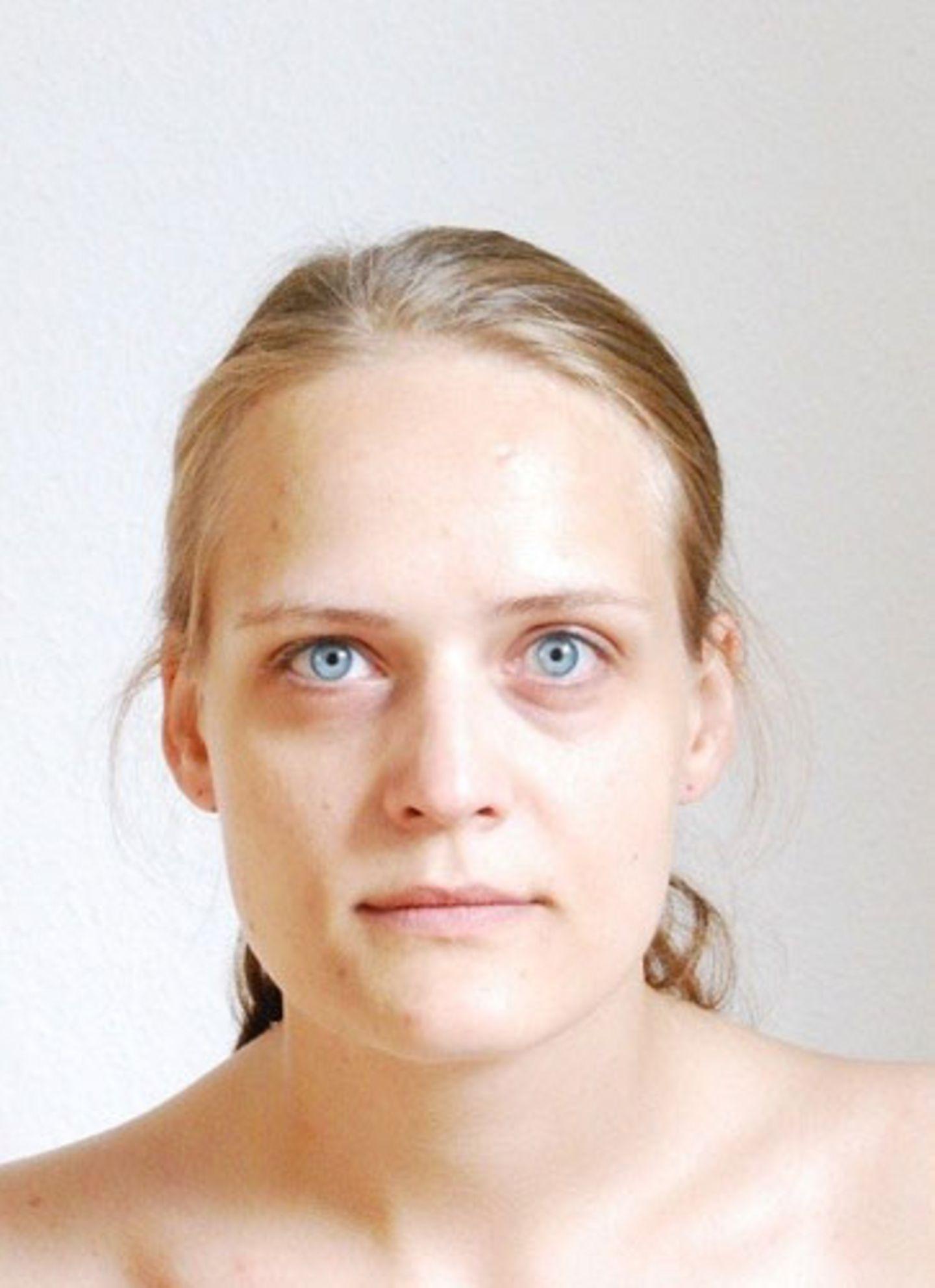 Louisa ohne Schminke