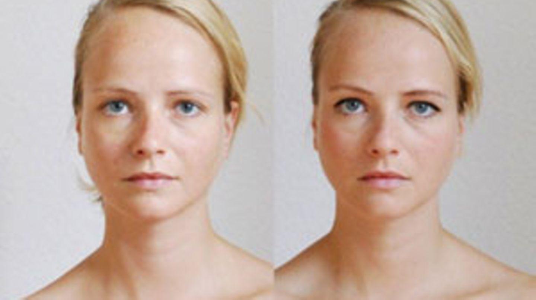 Ungeschminkte geschminkte mädchen oder Mädchen ungeschminkt