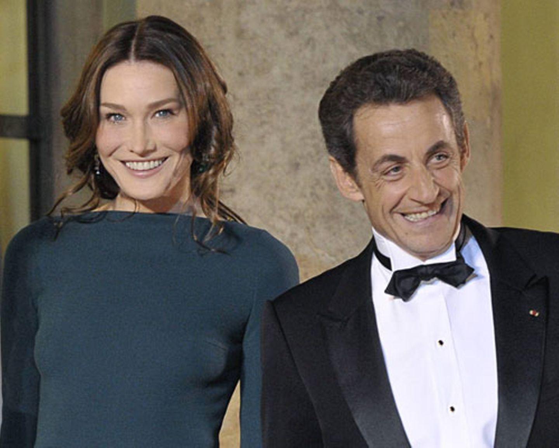 Nicolas Sarkozy und Carla Bruni: Die Glamour-Ehe