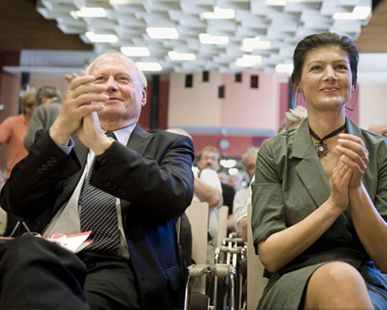 Sahra Wagenknecht und Oskar Lafontaine: Die linke Vielleicht-Ehe
