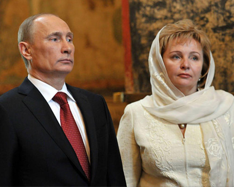 Wladimir Putin und Ljudmila Putina: Die gescheiterte Ehe