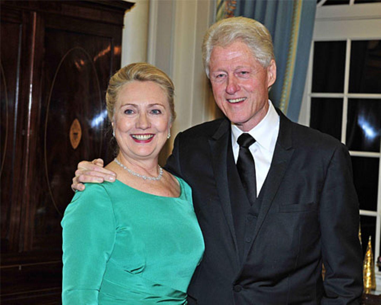 Hillary und Bill Clinton: Die Präsidenten-Ehe