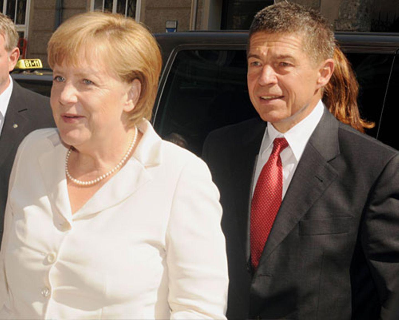 Angela Merkel und Joachim Sauer: Die diskrete Ehe