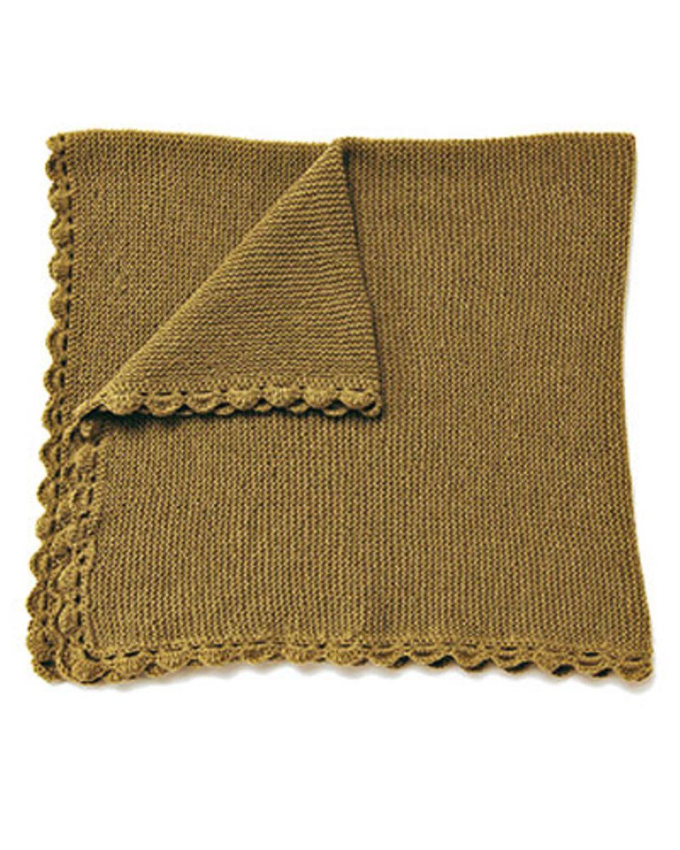 Decke stricken: 10 simple Anleitungen
