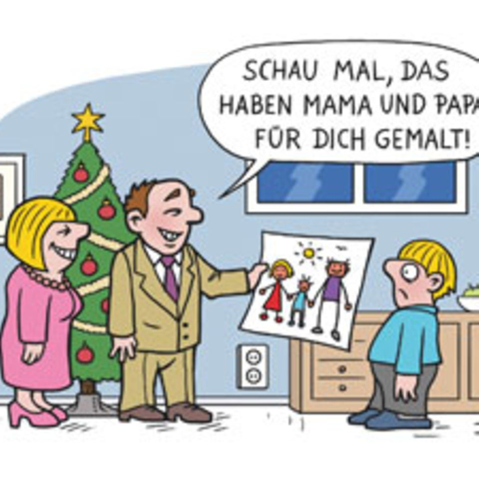Weihnachten in Cartoons