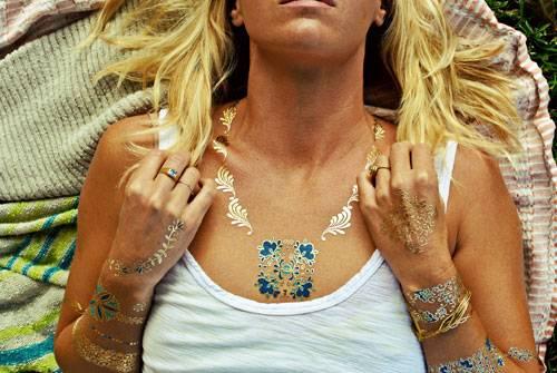 Inspirationen: Oder als Halskette.