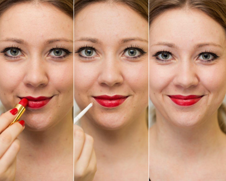 Concealer-Tipps: Für knallige Lippen