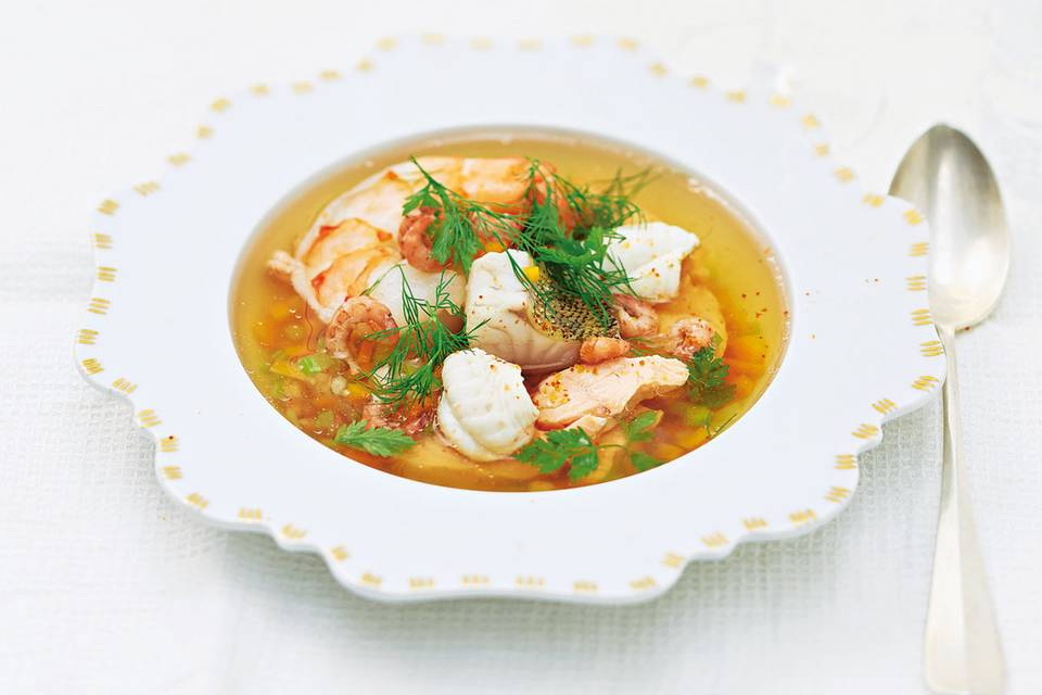 Fischsuppe – raffinierte Rezepte