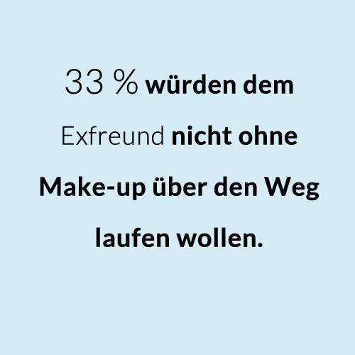 Ohne Make-up: Geschminkt oder ungeschminkt?