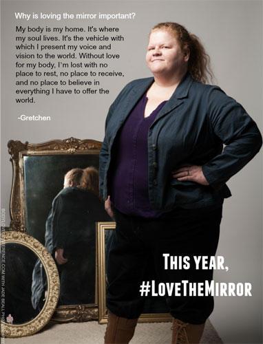 """""""Love the Mirror"""": Gretchen"""