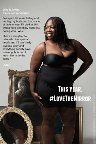 """Love the Mirror"": Adiba"