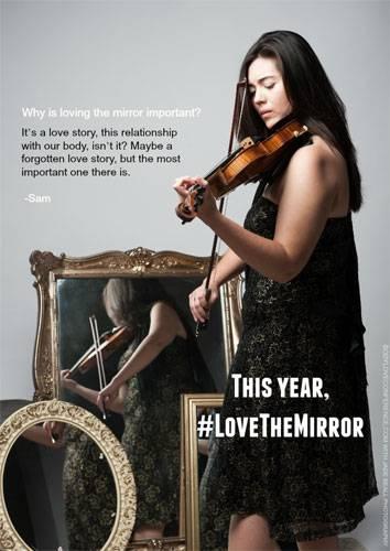 """Love the Mirror"": Sam"