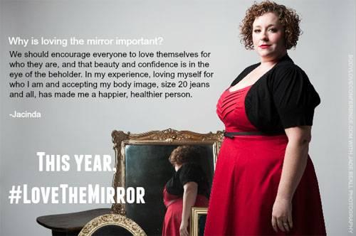 """Love the Mirror"": Jacinda"