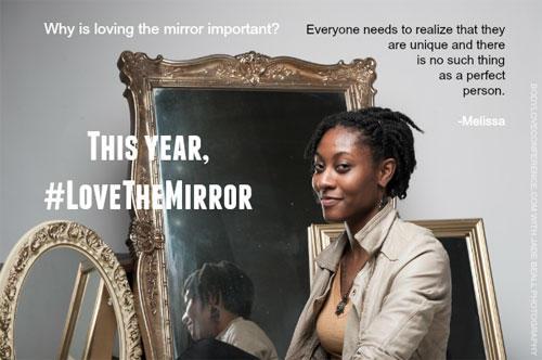 """Love the Mirror"": Melissa"