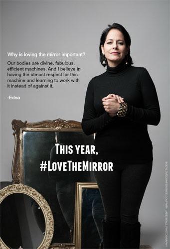 """""""Love the Mirror"""": Edna"""