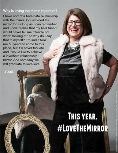 """Love the Mirror"": Pami"